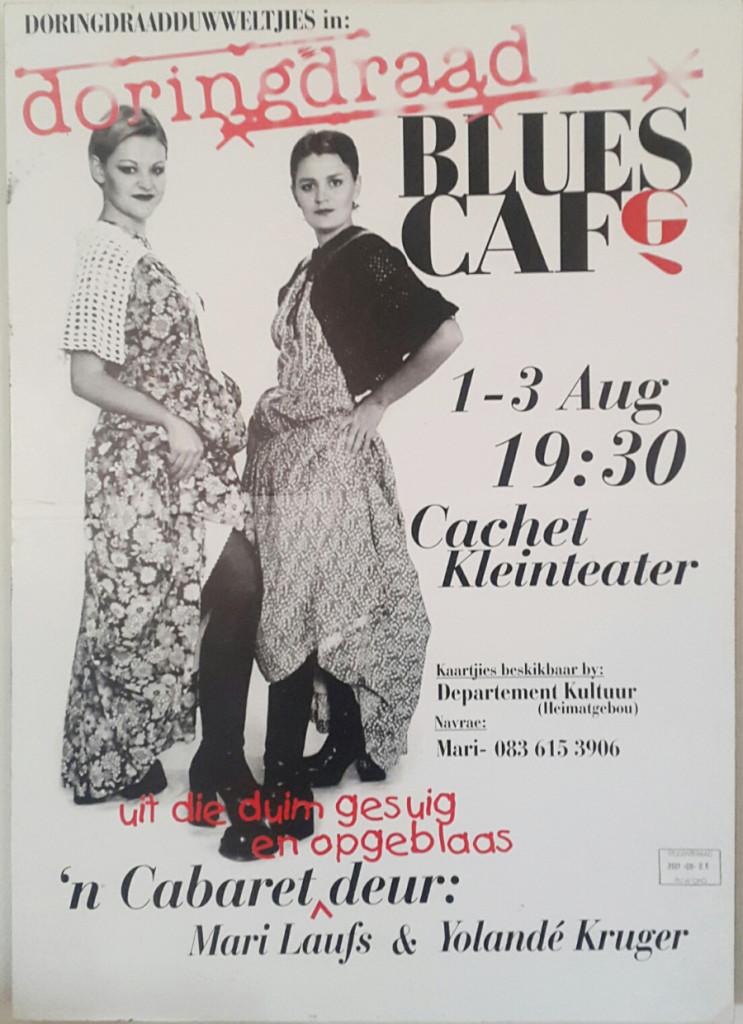 Doringdraad Blues Cafe Poster